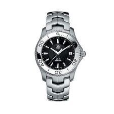 WJ1110.BA0570 Tag Heuer Link  Mens Black Dial Stainless Steel Quartz Watch