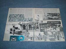 1979 25th NHRA U.S. Nationals Vintage Drag Race Highlights Article 'Silver Nats""