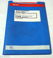 Werkstatthandbuch VW Passat B 4 Simos Einspritzanlage und Zündanlage Stand 1994