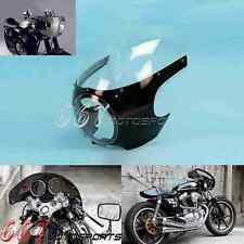 "5 3/4"" Viper Sport Retro Cafe Racer Fairing Windshield ABS Front Lamp Mask New"