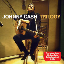 Johnny Cash TRILOGY Songs Of Our Soil/Hymns/Greatest! +BONUS SONGS New 3 CD