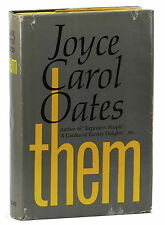 THEM by JOYCE CAROL OATES ~ SIGNED First Edition 1969 ~ 1st Issue Jacket ~ NBA