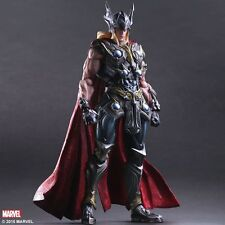 "Marvel Universe Avengers Variant Play Arts Kai THOR 10"" PVC Action Figure Statue"