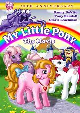 MY LITTLE PONY: THE MOVIE DVD - 30TH ANNIVERSARY - NEW UNOPENED