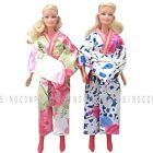 2 x Japanese Kimonos Barbie Dresses Clothes Gown Dolls Acc.Girl's Kids Xmas Gift