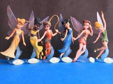 6 Disney Fairies Tinker Bell Tinkerbell Peter Pan & Friends Action Figures D74