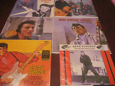 GENE VINCENT & BLUE CAPS CAPITOL COLLECTION + RARE 10 INCH EP OUT OF PRINT 6 LP