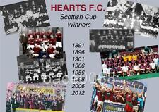 HEART OF MIDLOTHIAN FC HEARTS FC SCOTTISH CUP FINAL WINS 1891 TO 2012 EXCLUSIVE