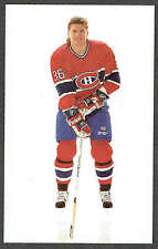 1989-90 Montreal Canadiens Team-Issued Todd Ewen Short Print Variety Card