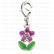New Avon Embellished Flower Charm for your Charm Bracelet-  Free P&P look great