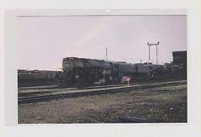 UNION  PACIFIC    4-8-8-4 'Big Boy' # 3990 at Cheyenne, WY yard in 1957