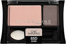 Maybelline Expertwear Eye Shadow DUO - Chic Naturals - Dusk 65D