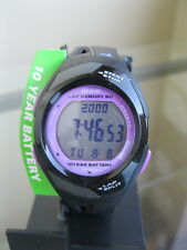 newstuffdaily: NIB CASIO STR300-1C Runner Eco Friendly Digital Ladies Watch