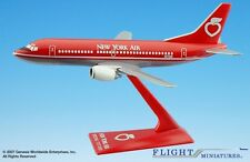 Flight Miniatures New York Air Boeing 737-300 Desk Display 1/180 Model Airplane