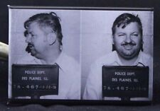 "John Wayne Gacy Mugshot 2"" X 3"" Fridge / Locker Magnet. Serial Killer"