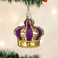 *Crown of Royalty* Prince King [36127] Old World Christmas Glass Ornament- NEW