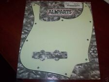 NEW - Pickguard For Fender Jazz Bass, 3-Ply - MINT GREEN