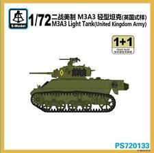 S-model 1/72 PS720133 M3A3 Light Tank Britain Army  (1+1)