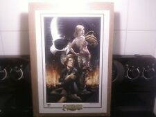 MIKE CHOI WITCHBLADE #100 LITHOGRAPH LIMITED TO 250