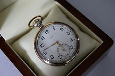 ZENITH SILVER 0.800 OLD POCKET WATCH - SWISS MADE