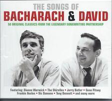 Songs of Bacharach & David - 50 Original Classics - Various Artists (2CD) NEW