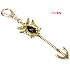 Fairy Tail ZODIAC Star Lucy summon KEY Constellation KEYCHAIN Cosplay Pisces New