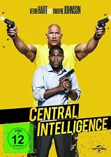 CENTRAL INTELLIGENCE   DVD NEU  DWAYNE JOHNSON/KEVIN HART/AMY RYAN/+