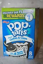 USA Kellogg's Pop Tarts Frosted COOKIES & CREME (8 toaster pastries)