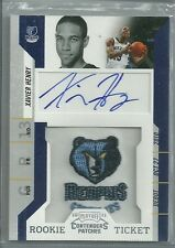 2010/11 Contenders Basketball Xavier Henry Rookie Ticket Autographed Card
