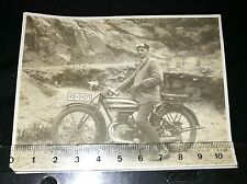 Original Foto (201) Motorrad Oldtimer Triumph