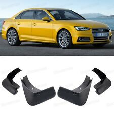 4Pcs Car Mud Flaps Splash Guard Mudguard Fender for 2016-2017 Audi A4 Sedan