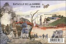 France 2016 Somme/Battle/Tank/Soldiers/Plane/Poppies/Ambulance 2v m/s (n45653)