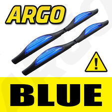 BLUE DOOR GUARD PROTECTORS EDGE STRIP REFLECTORS PEUGEOT 206