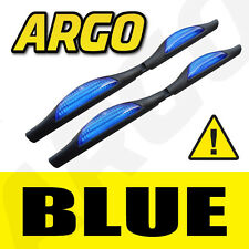 BLUE DOOR GUARD REFLECTORS PROTECTORS EDGE STRIP REFLECTIVE SAFETY EDGING