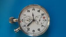 vintage heuer rattrapante split second pocket watch chronograph 76 R. for parts