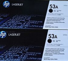 2 New Genuine HP 53A Laser Cartridges NO BOX NO BAG UNUSED