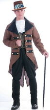 SteamPunk Cosplay Victorian Jack Men's Adult Costume Jabot Vest Coat NEW SEALED
