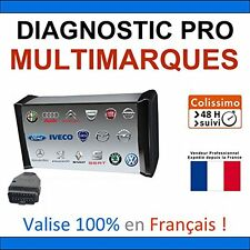 Valise Diagnostique Pro Multimarque En Français Obd Obd2 Diagnostic MPM-COM