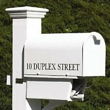 LAZY HILL FARM BRISTOL MAILBOX WHITE MAIL BOX - POST NOT INCLUDED