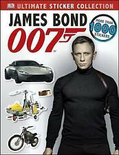 NEW  JAMES BOND 007  (over 1000 stickers)  ULTIMATE STICKER COLLECTION