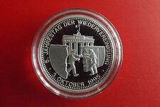 *Münze / Medaille Silber 1995 ca.15g *Wiedervereinigung (Schub.9)