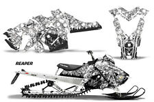 AMR Racing Sled Wrap Polaris Axys SKS Snowmobile Graphics Sticker Kit 2015+ RP W
