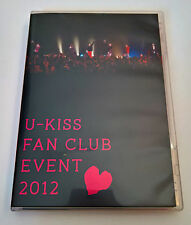 U-KISS Fan Club Event 2012 Japan Press DVD KissMe Japan Exclusive