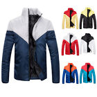 New Fashion Winter Men's Down Cotton Jacket Slim Thick Padded Warm Coat Outwear