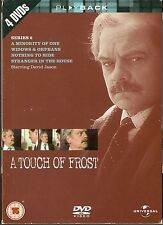 A TOUCH OF FROST - Complete 2nd Series. David Jason. ITV (4xDVD BOX SET 2004)