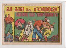 Collection VICTOIRE n°37. Alain La Foudre. SAGE 1948.