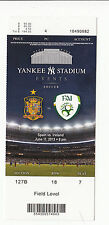 2013 SPAIN VS IRELAND SOCCER FULL TICKET STUB YANKEE STADIUM 6/11/13