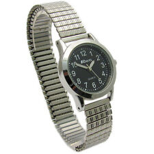 Ravel Ladies Super-Clear Quartz Watch with Expanding Bracelet sil #34 R0230.03.2