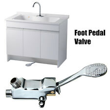 Foot Pedal Válvula Control Switch Grifo Single Fría Mezclador Lavabo Agua Tap