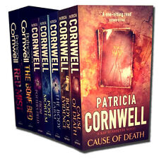 Patricia Cornwell 7 Books Set Collection - Cause of Death, Body of Evidence, ...